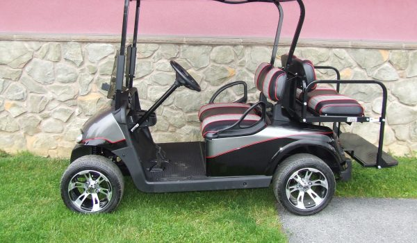 2015 EZGO RXV Electric CHARCOAL/BLACK/RED