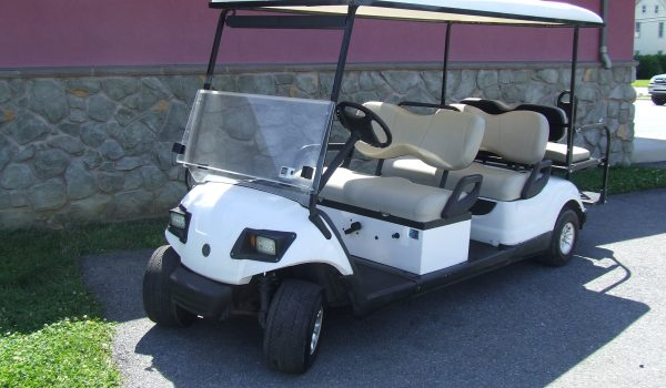 2008 Yamaha Stretch Golf Cart Gas