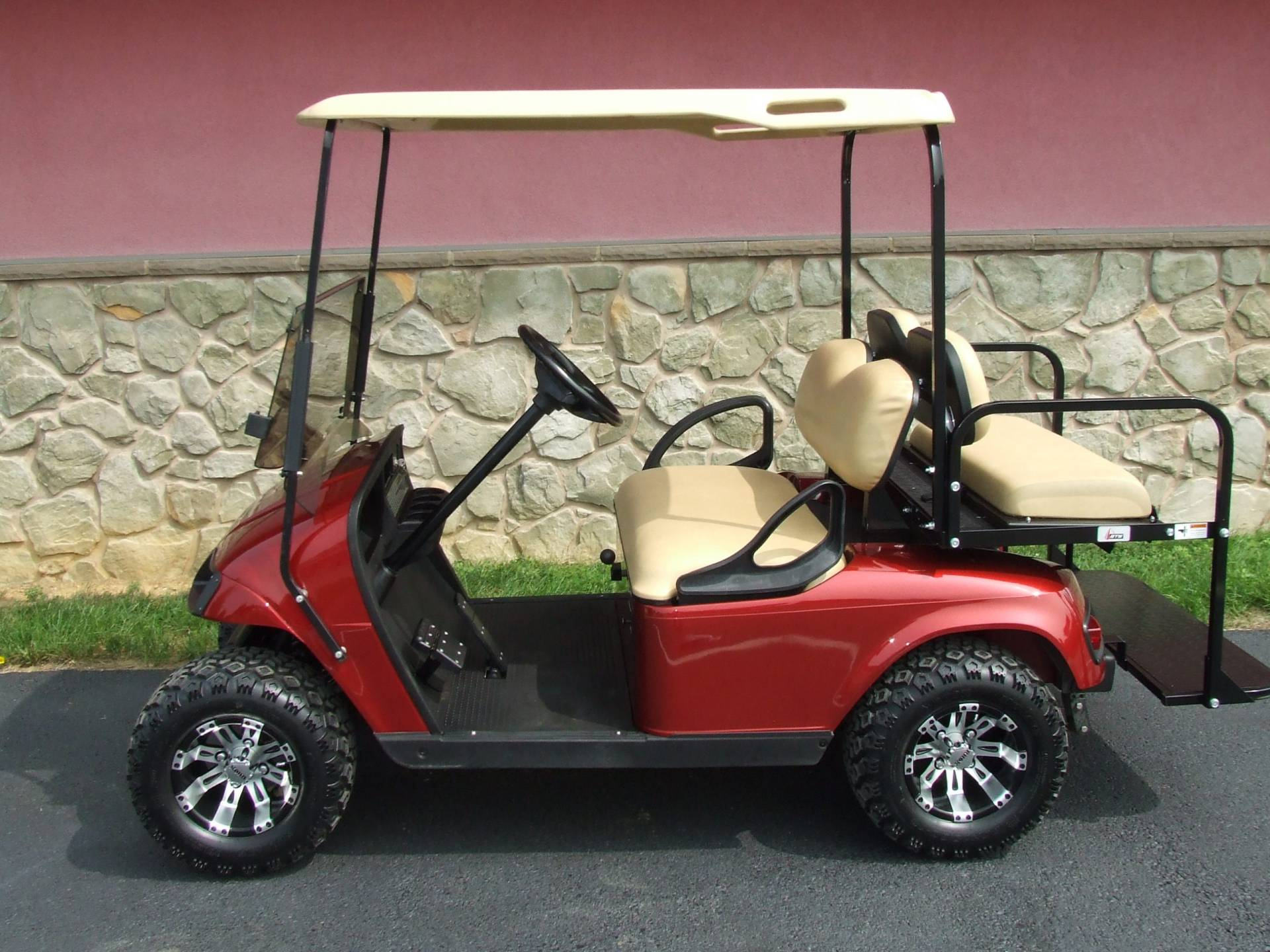 2013 EZGO TXT INFERNO RED