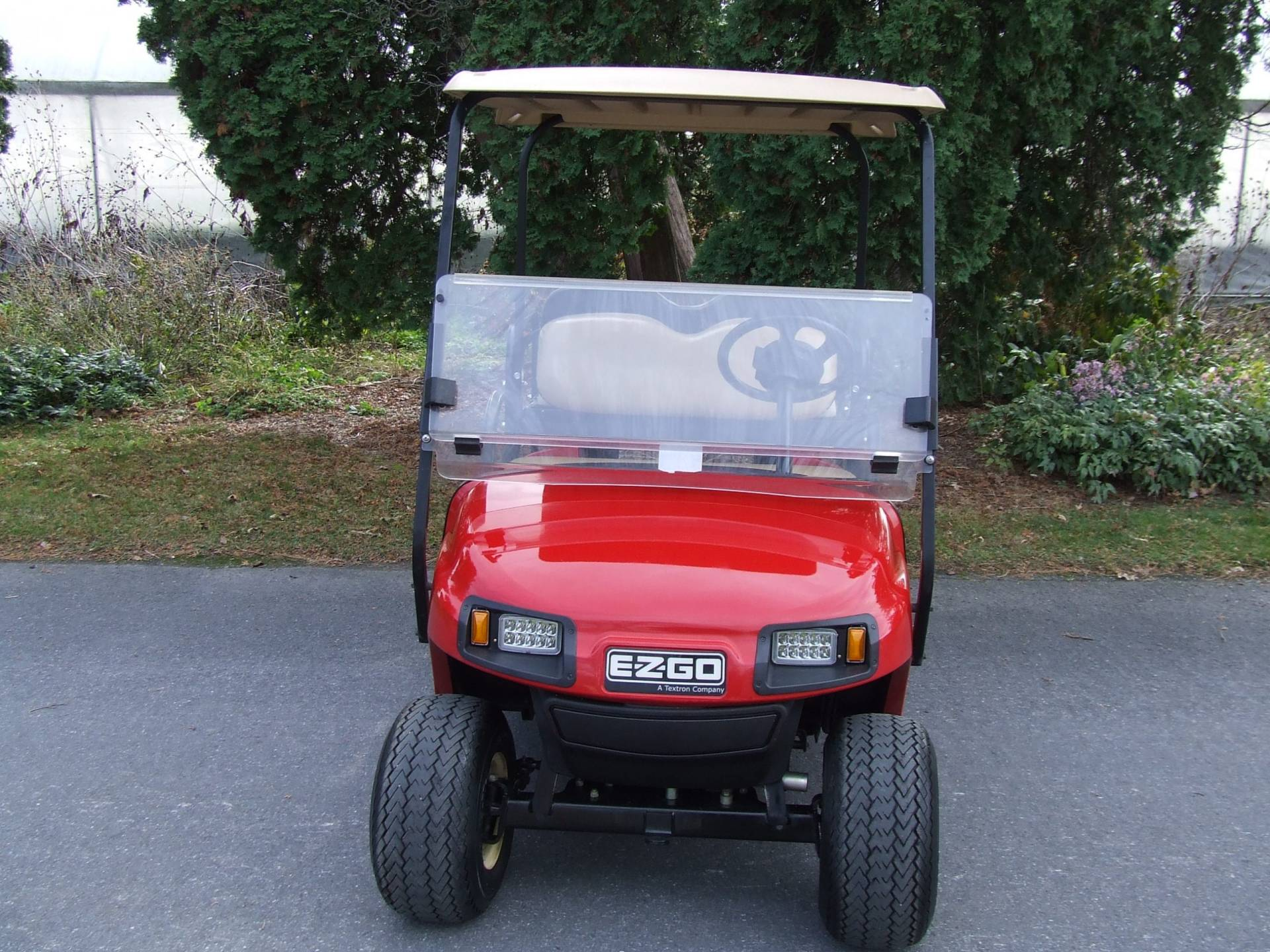 2016 EZGO TXT ELECTRIC RED