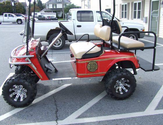 golf cart upgrades