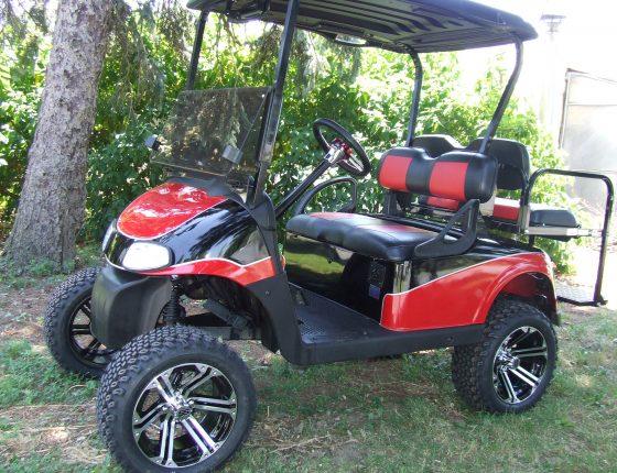 Custom Electric & Gas Golf Carts