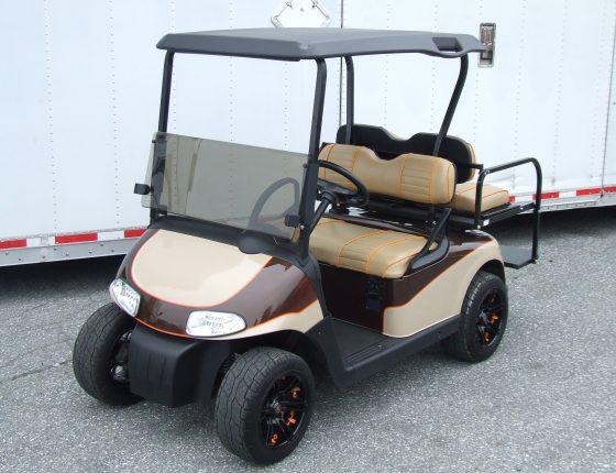 custom golf cart rental
