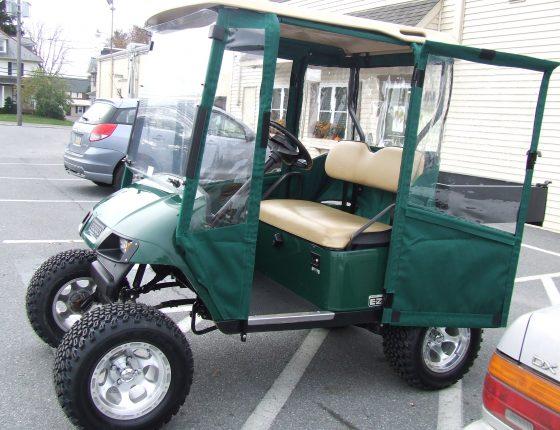 green golf cart rentals