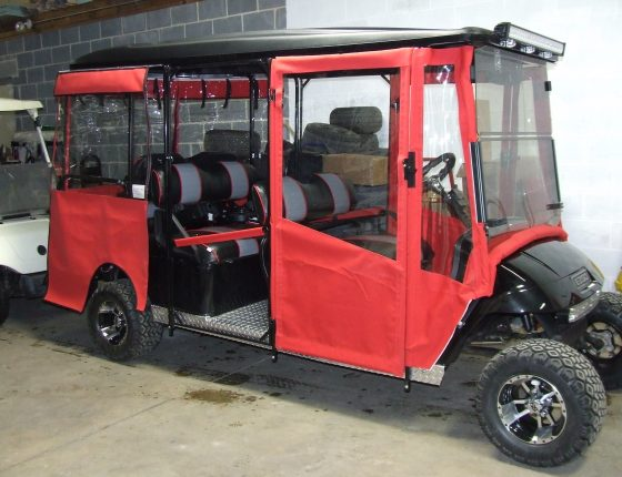 custom golf cart for rental or buying