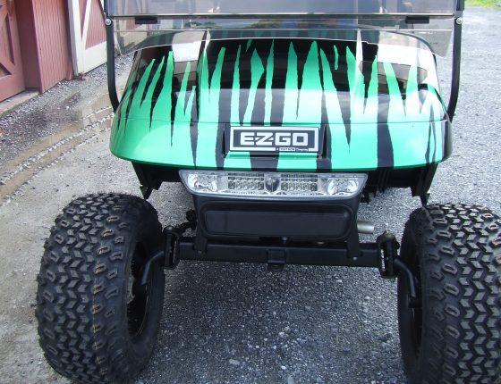 custom golf cart dealer
