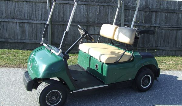2002 YAMAHA G22 ELECTRIC 2-SEATER
