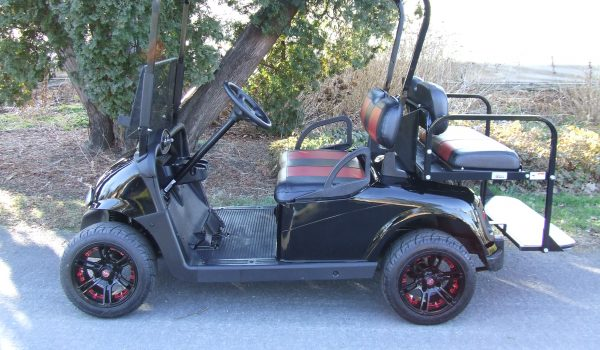 2015 EZGO RXV BLACK ELECTRIC