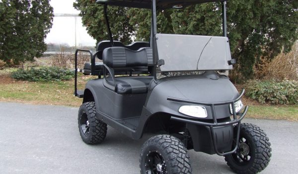 2015 EZGO RXV CHARCOAL LIFTED