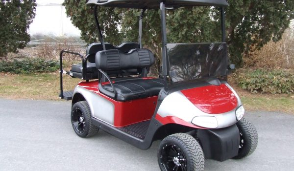 2015 EZGO RXV RED/CHARCOAL