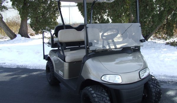 2017 EZGO RXV ALMOND ELECTRIC